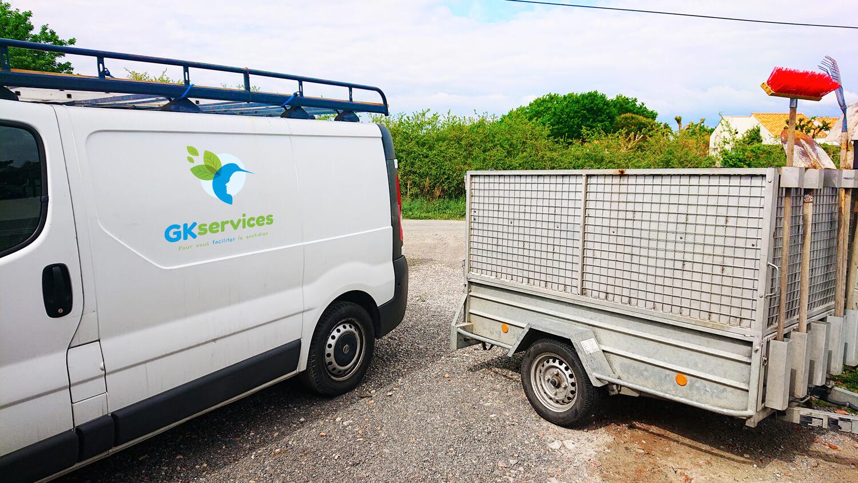 Livraison - évacuation -Vendée - gk-services