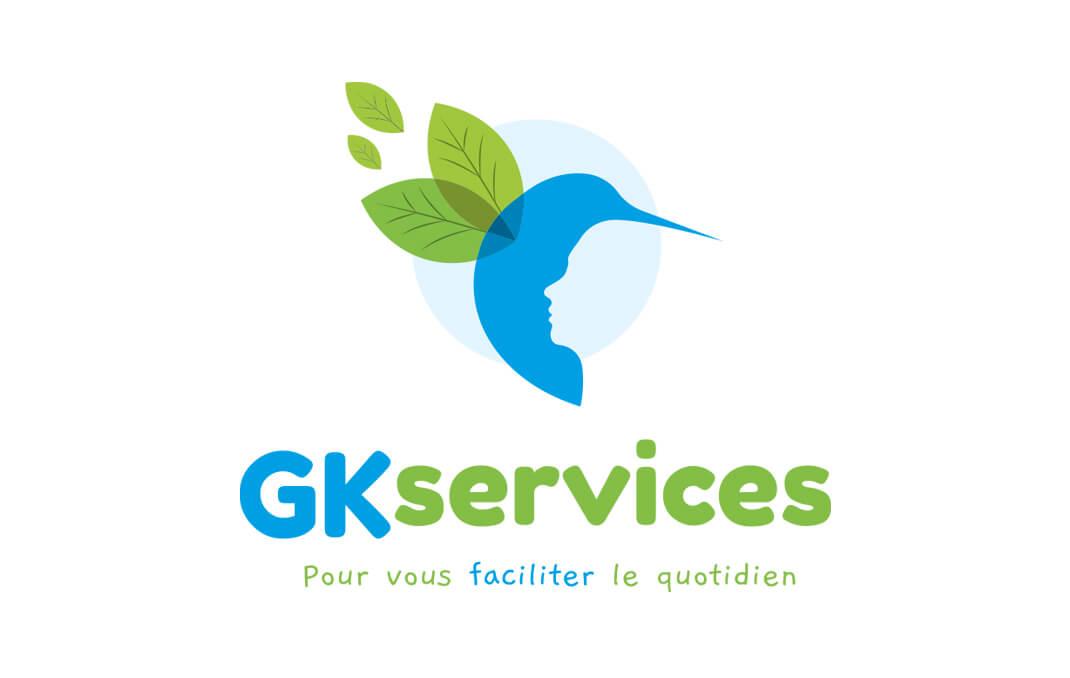 Service à la personne - Vendée - Logo gk-services